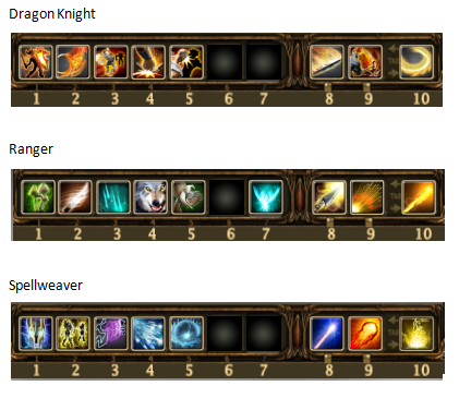 Dragon Caverns Skill Settings